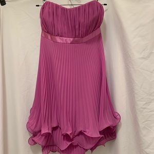 Laundry strapless party dress, size 8